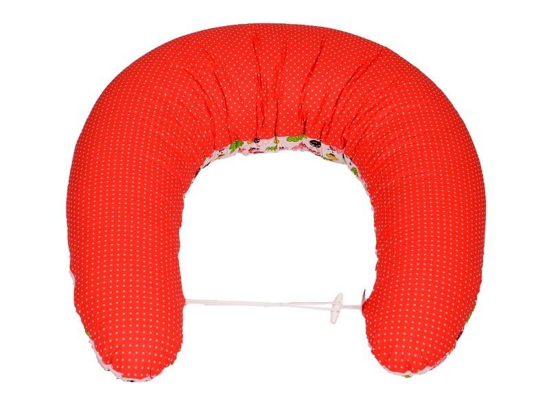 Kojící polštář Standard BERUŠKA ČERVENÁ, 100% bavlna 1