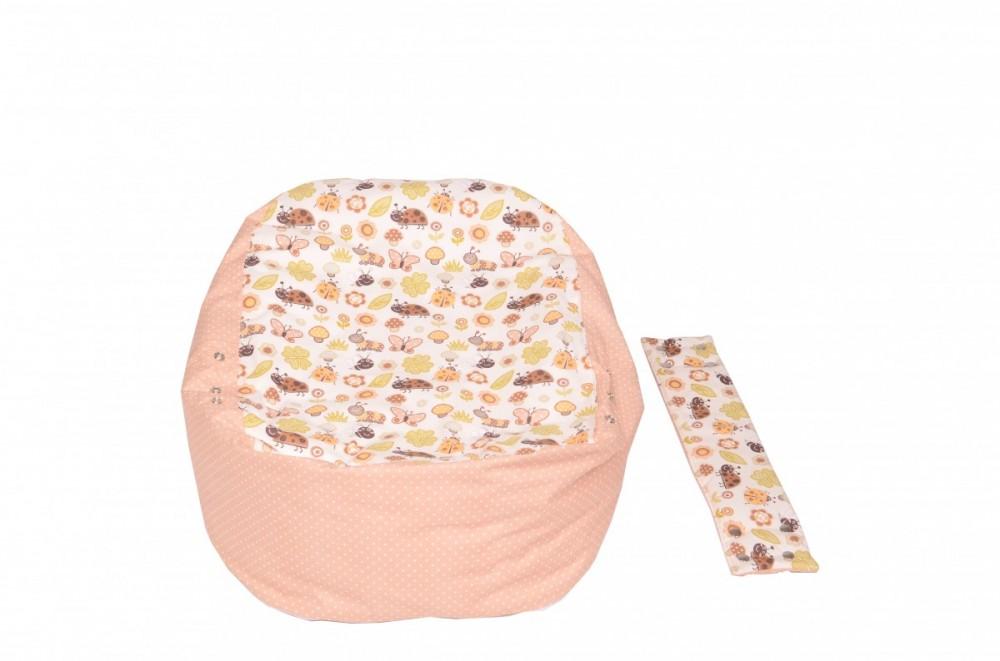 Pelíšek pro miminko BERUŠKA BÉŽOVÁ, 100% bavlna 3