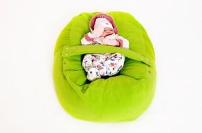 Pelíšek pro miminko ZELENÝ, fleece