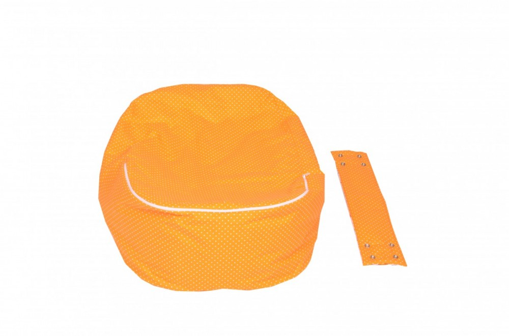 Náhradní potah, na pelíšek pro miminko BERUŠKA ORANŽOVÁ, 100% bavlna 3