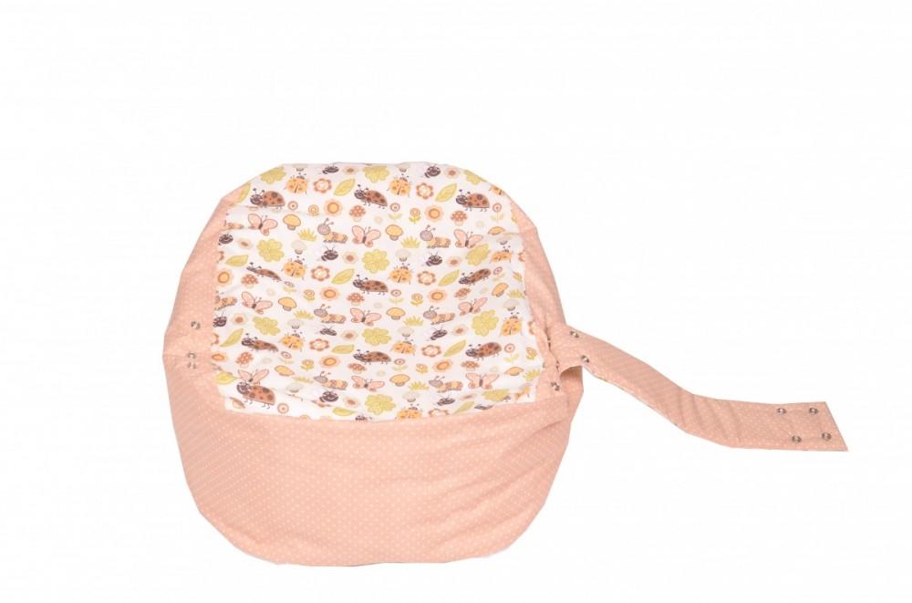 Náhradní potah, na pelíšek pro miminko BERUŠKA BÉŽOVÁ, 100% bavlna 1