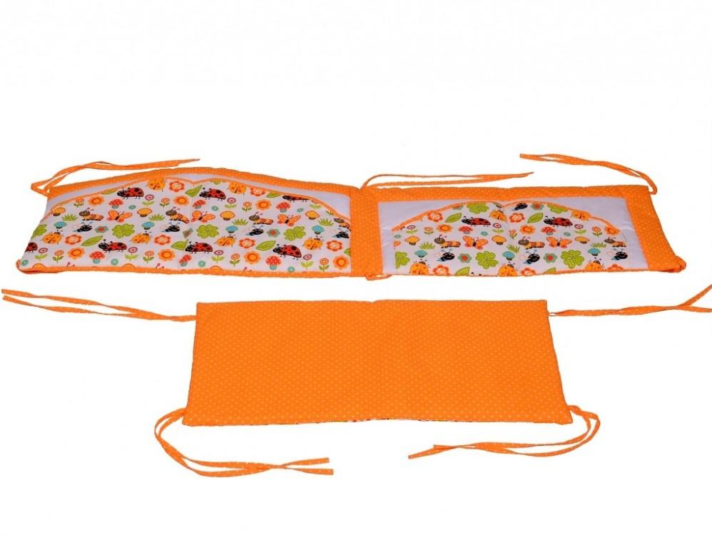 dvoudílný mantinel beruška oranžová