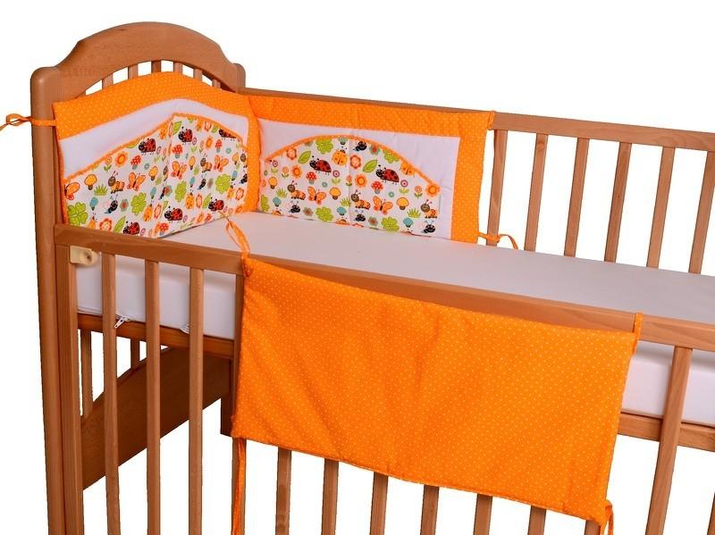 dvoudílný mantinel beruška oranžová 1