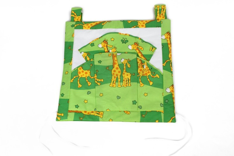 kapsář žirafa zelená
