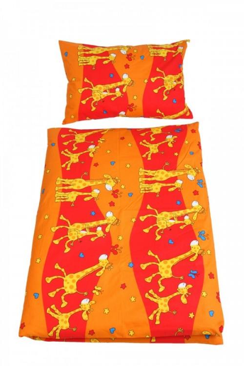 povlečení do postýky, žirafa oranžová