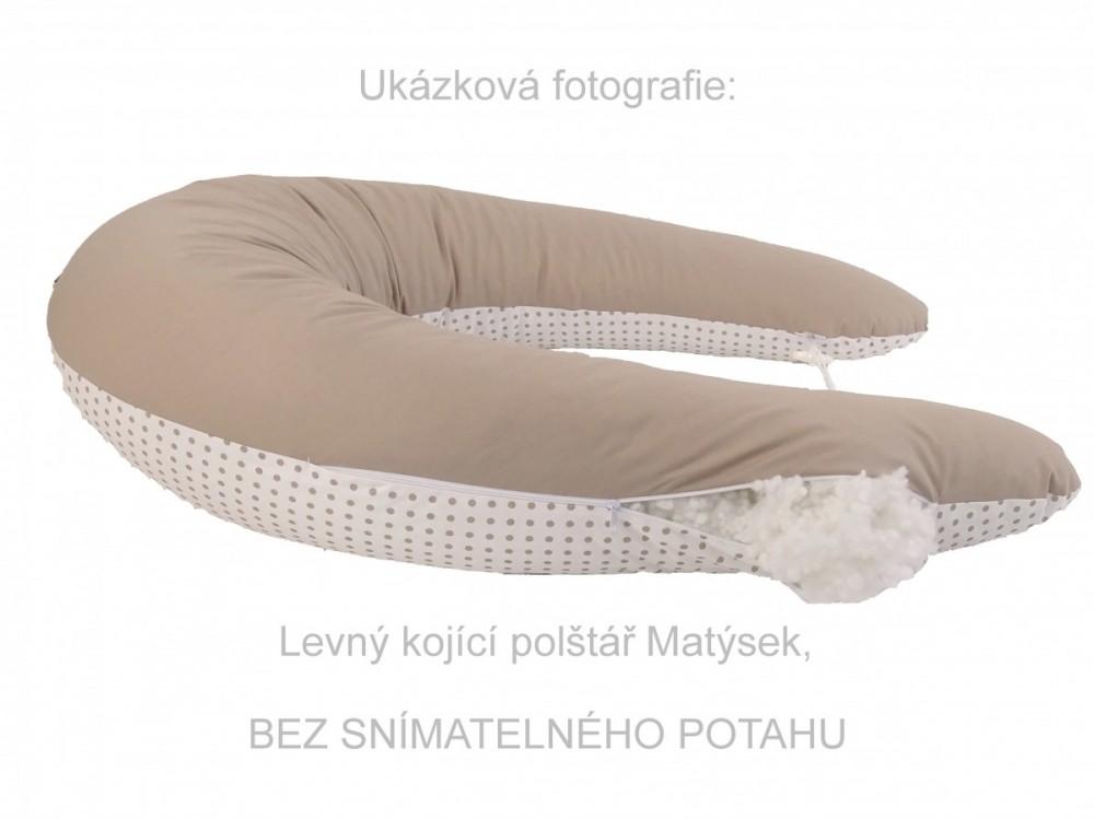ilustrační foto, Levný, rovnou plněný kojící polštář Matýsek.