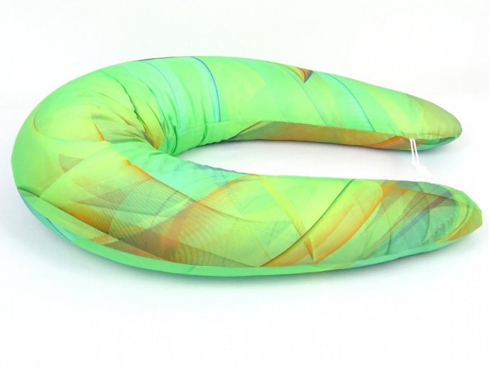 Kojící polštář MAXI COLOR,  bavlněný satén 2