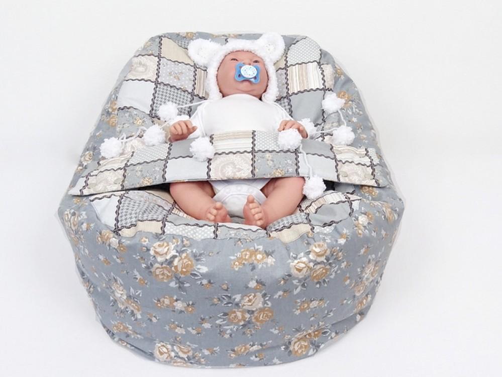 Pelíšek pro miminko PEČVORK, 100% bavlna 1