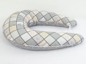 Kojící polštář Standard PATCHWORK, 100% bavlna