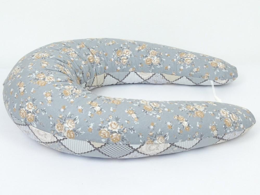těhotenský a kojící polštář Matýsek, patchwork 4