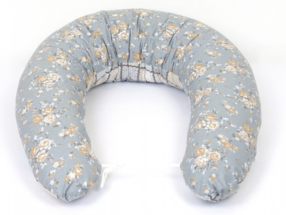 těhotenský a kojící polštář Matýsek, patchwork 5