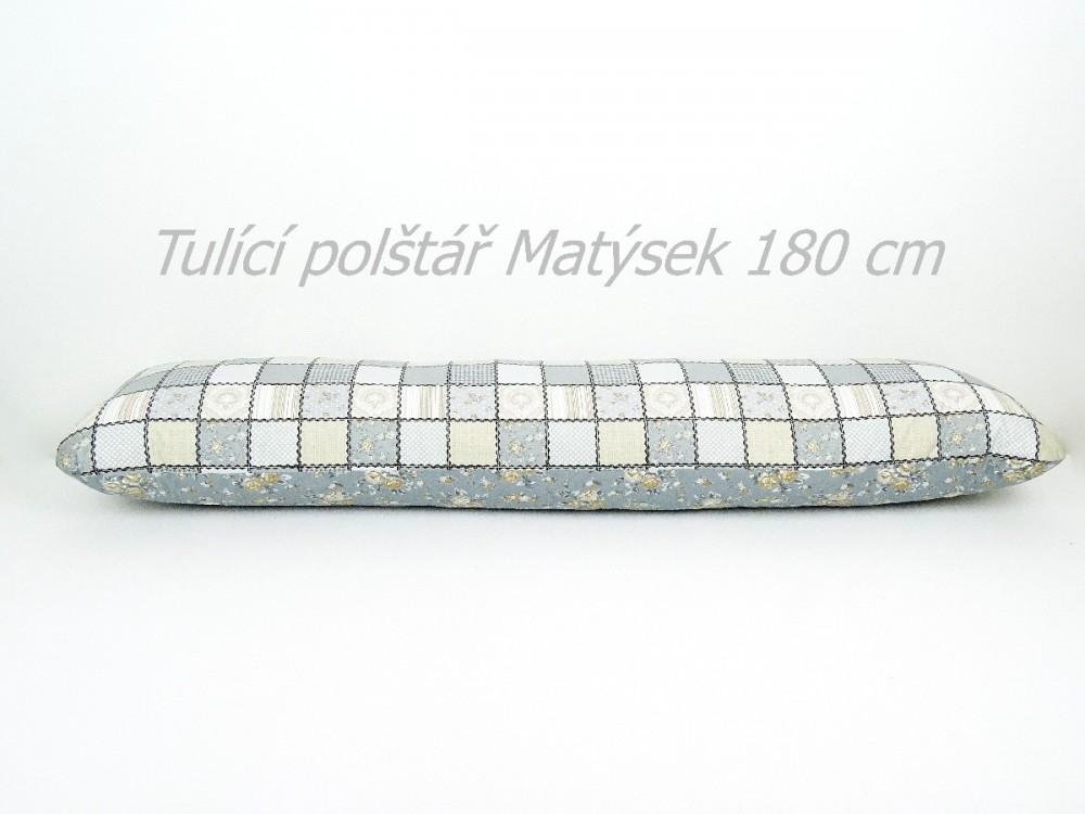 Tulící polštář Matýsek pečvork dvoubarevný