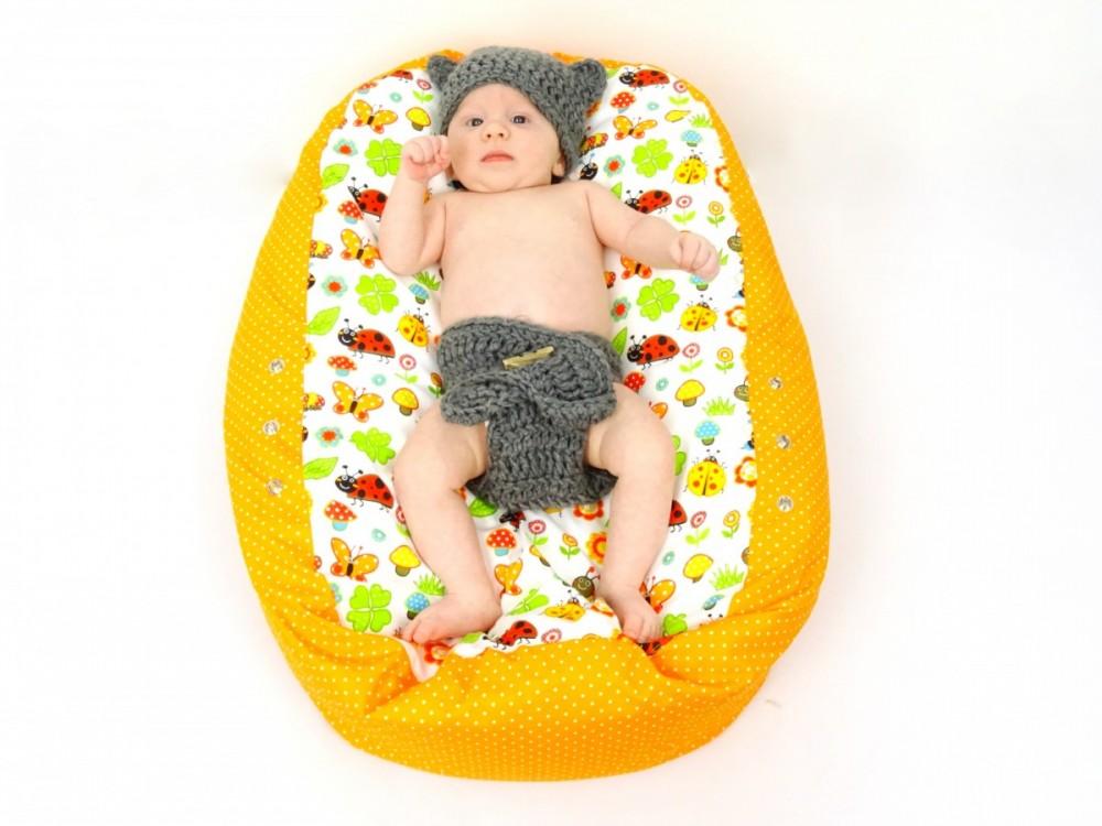Lucka - pelíšek pro miminko Matýsek, beruška béžová