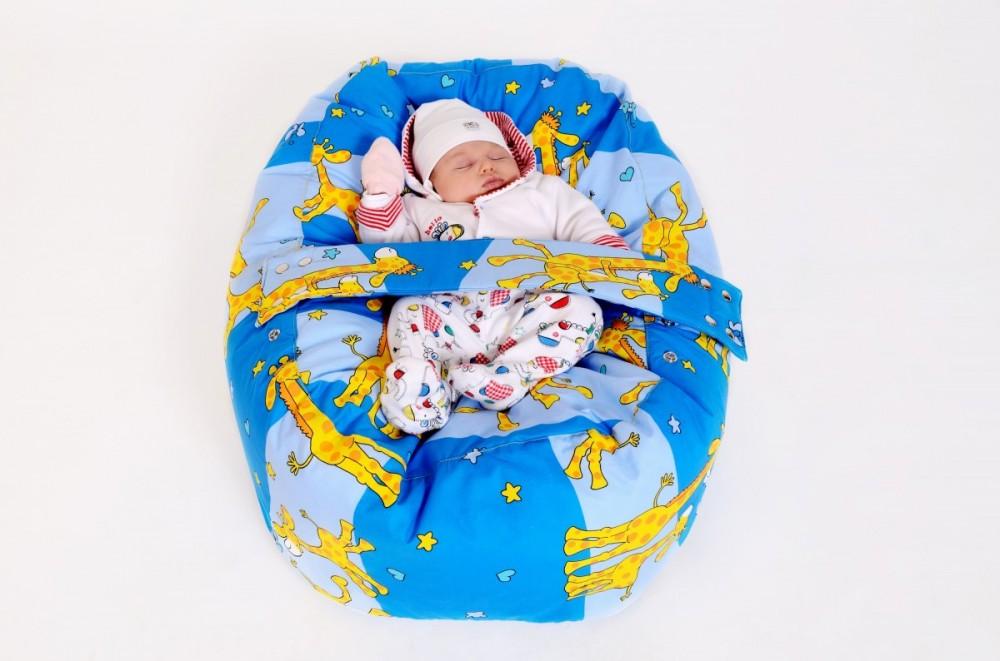 Pelíšek pro miminko, relaxace a pohodlí