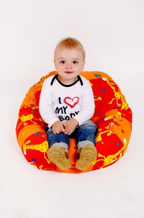 Pelíšek může sloužit jako sedací vak pro starší děti