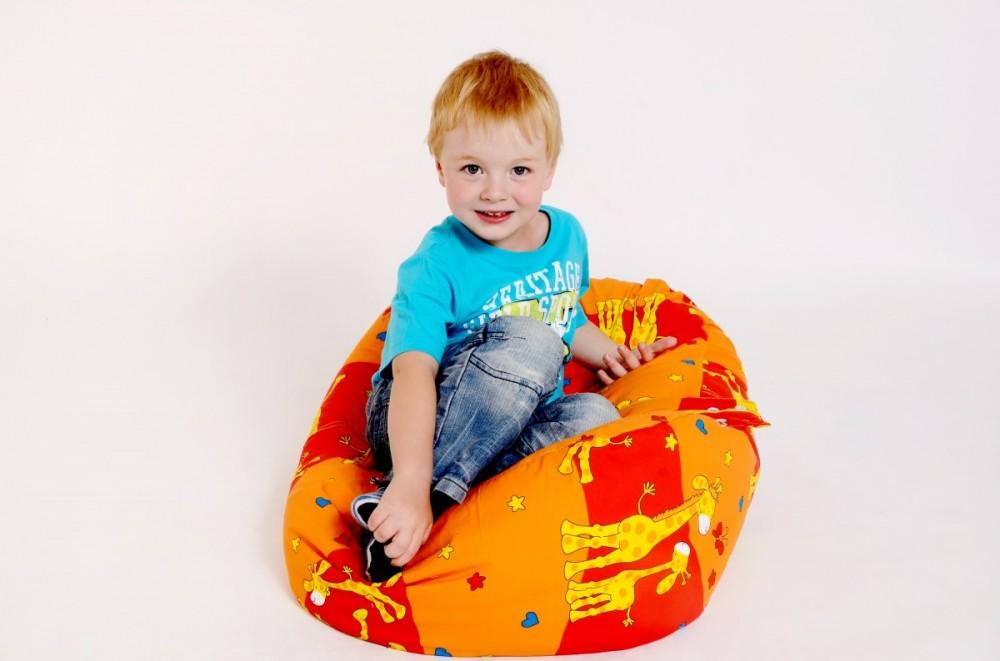 sedací vak pro děti