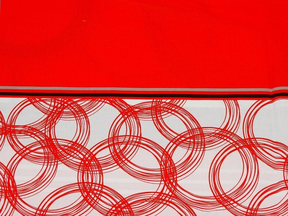 Náhradní potah na Tulící polštář XXL, 100% bavlna, Fun červený