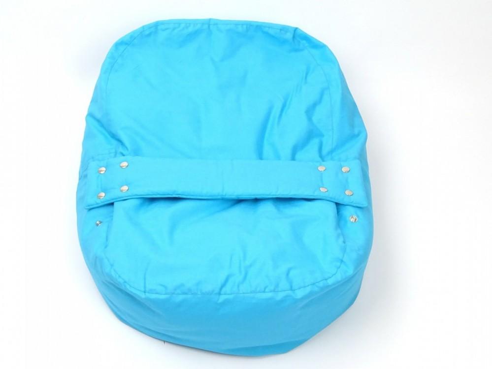 Pelíšek pro miminko MODRÝ, 100% bavlna 1