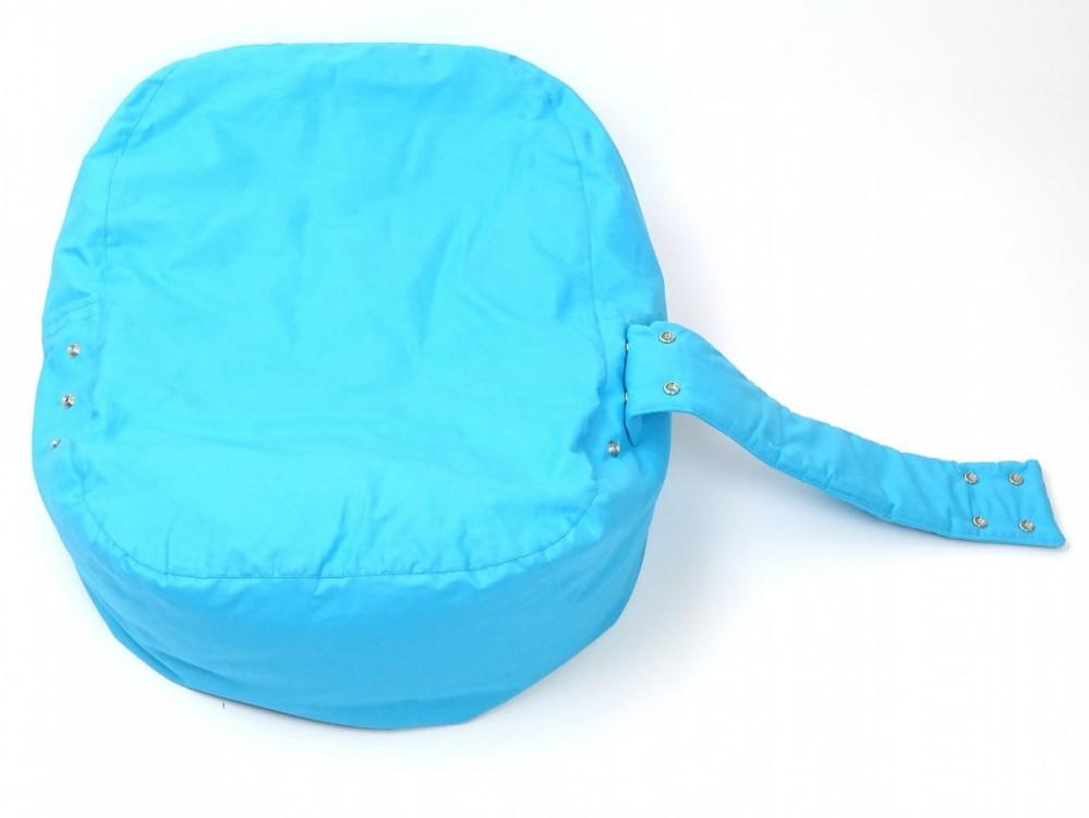 Pelíšek pro miminko MODRÝ, 100% bavlna 2