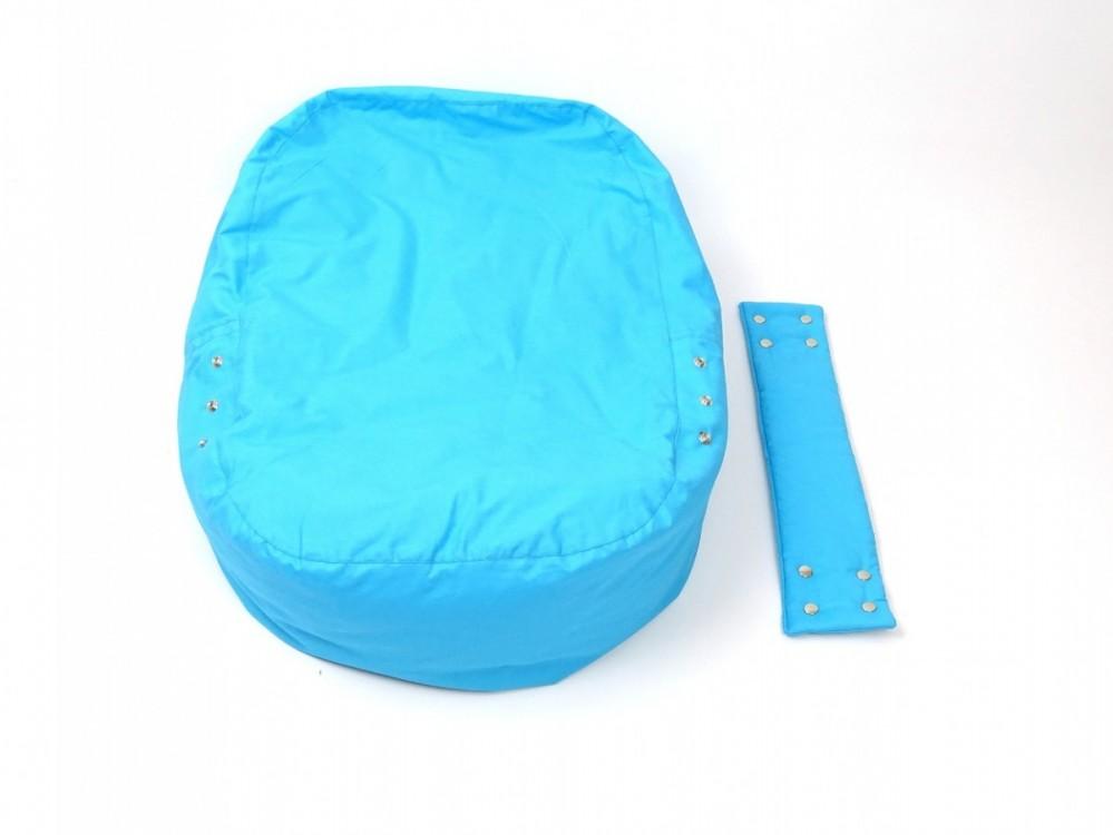 Pelíšek pro miminko MODRÝ, 100% bavlna 3