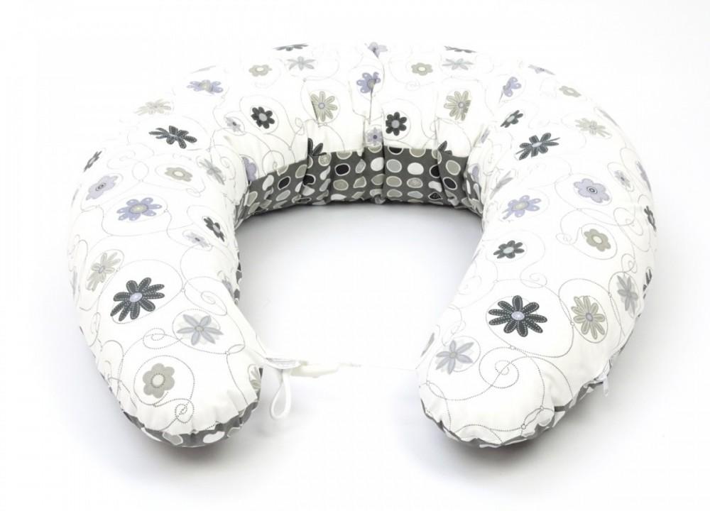 Kojící polštář Standard LOUKA ČERNO/BÍLÁ, 100% bavlna č.4