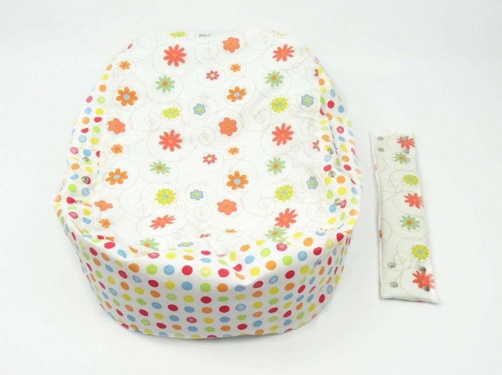 Pelíšek pro miminko, 100% bavlna, LOUKA ORANŽOVÁ č.5