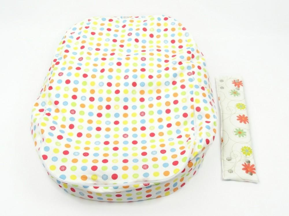 Pelíšek pro miminko, 100% bavlna, LOUKA ORANŽOVÁ č.6