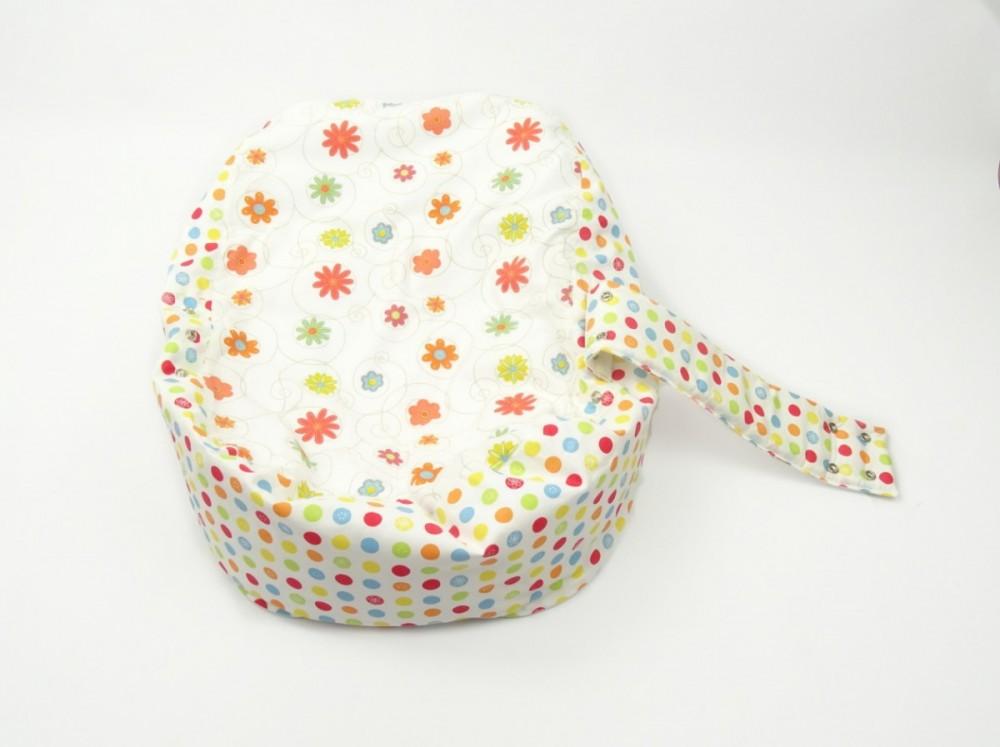 Náhradní potah, na pelíšek pro miminko LOUKA ORANŽOVÁ 1