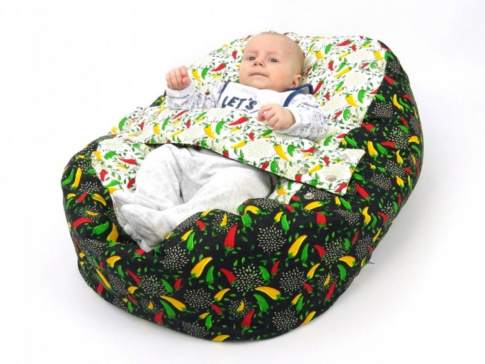 Relaxační vak pro miminko PAPRIČKY, 100% bavlna č.7