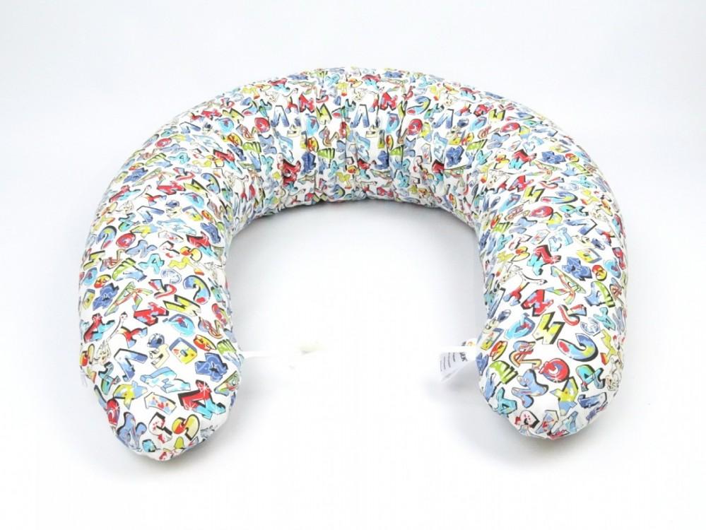 Kojící polštář MAXI Grafitti, 100% bavlna 2