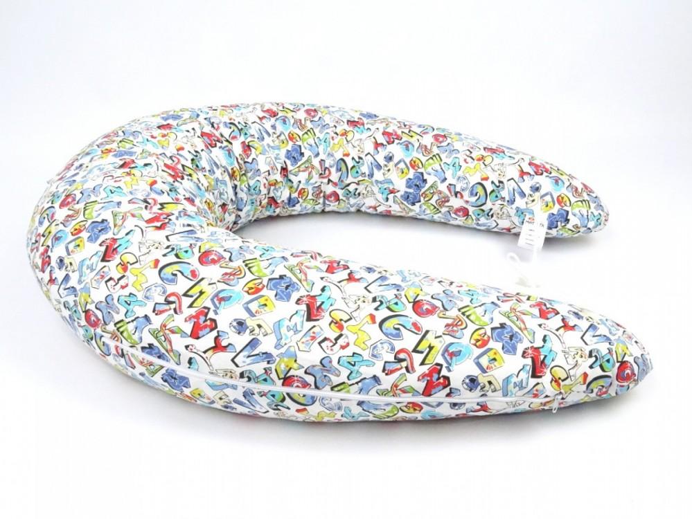Kojící polštář MAXI Grafitti, 100% bavlna 1