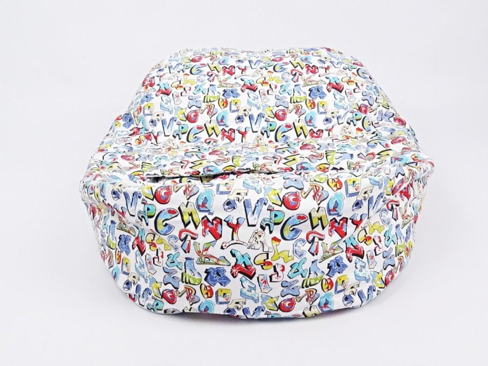 Náhradní potah, na pelíšek pro miminko GRAFITTI 100% bavlna