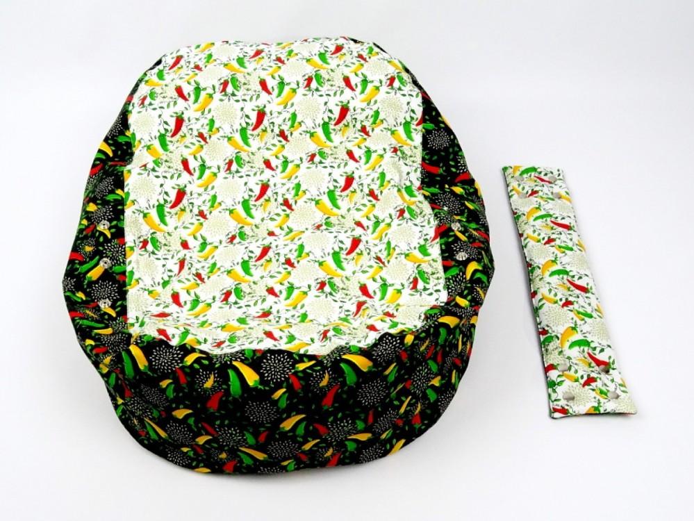 Náhradní potah, na pelíšek pro miminko PAPRIČKY, 100% bavlna 2