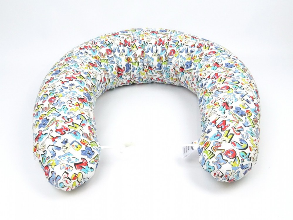 Kojící polštář Standard GRAFITTI, 100% bavlna
