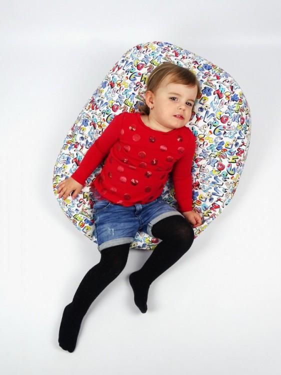 Relaxační vak pro děti GRAFITTI, 100% bavlna