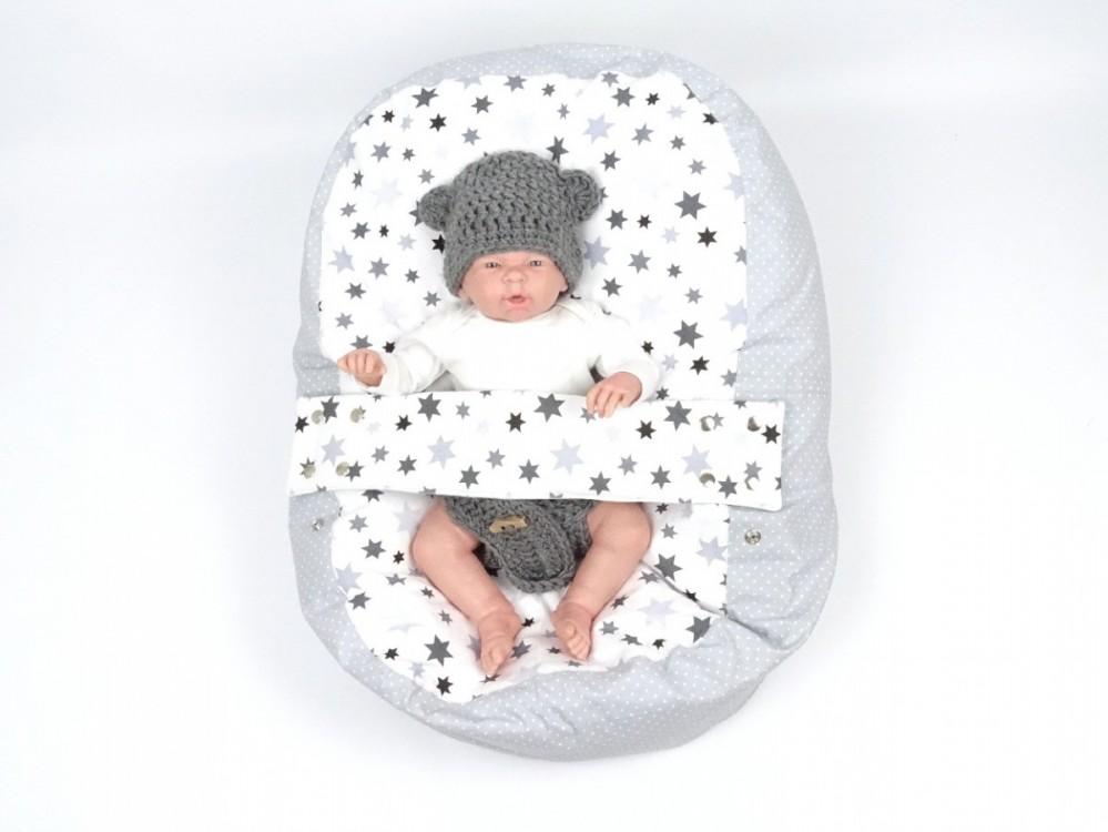Pelíšek pro miminko STARS, 100% bavlna 1