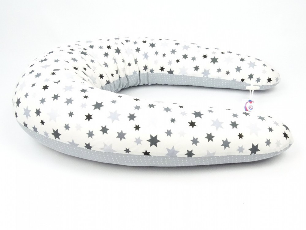 Multifunkční, kojící polštář MAXI STARS, 100% bavlna č.3