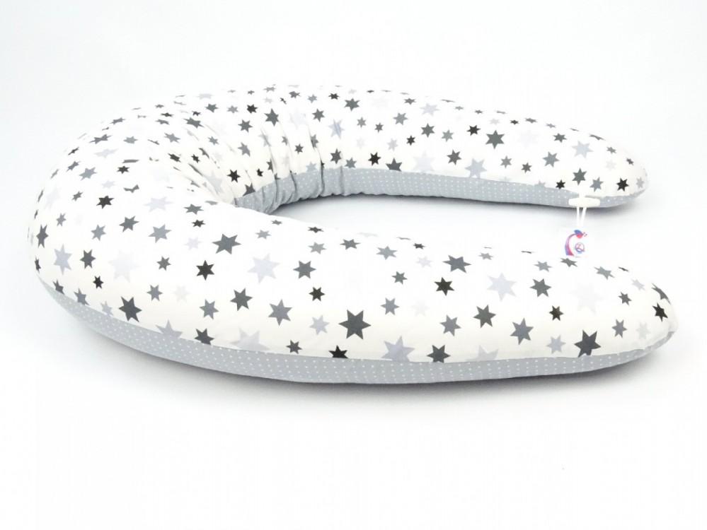 Kojící polštář Standard STARS, 100% bavlna