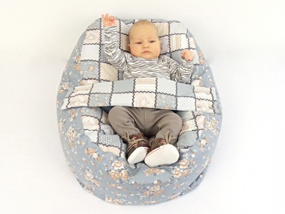 kojenecký vak pro miminko a děti, PATCHWORK