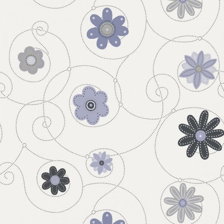 Louka šedá - květy