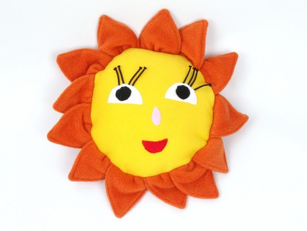 fleecové sluníčko