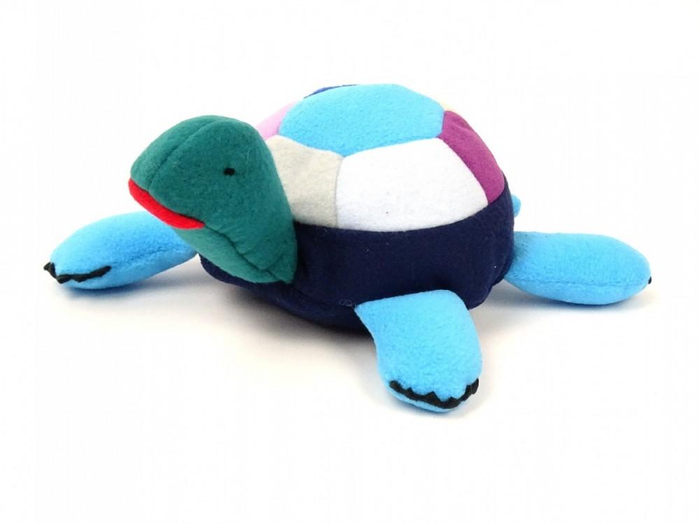 želva modrá, krásné, látkové hračky