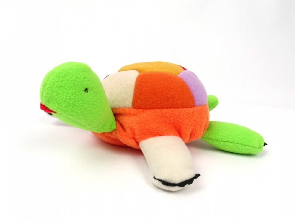 fleecová želvička, hračka  pro děti