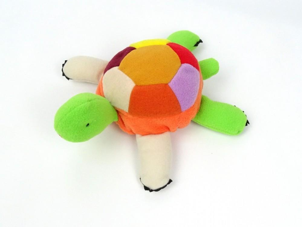 oranžová želvička z fleecu