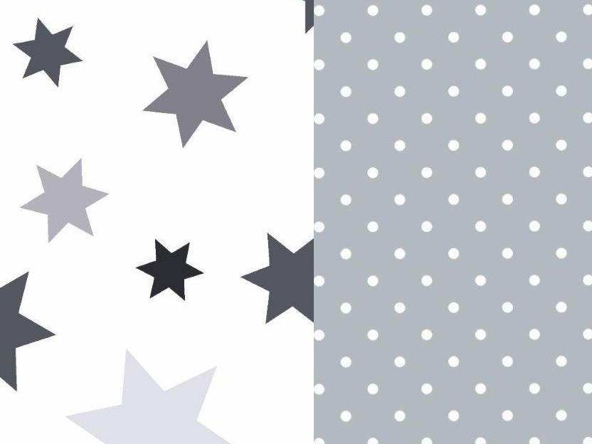 Povlečení do dětské postýlky Stars, bavlna