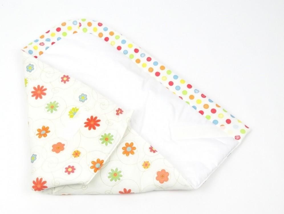 zavinovačka pro miminko LOUKA ORANŽOVÁ, 100% bavlna