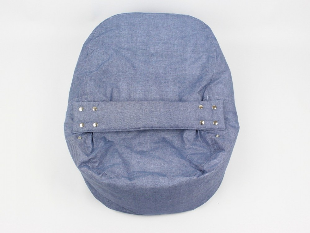 Pelíšek, lehátko pro miminko, 100% bavlna, DENIM č.3
