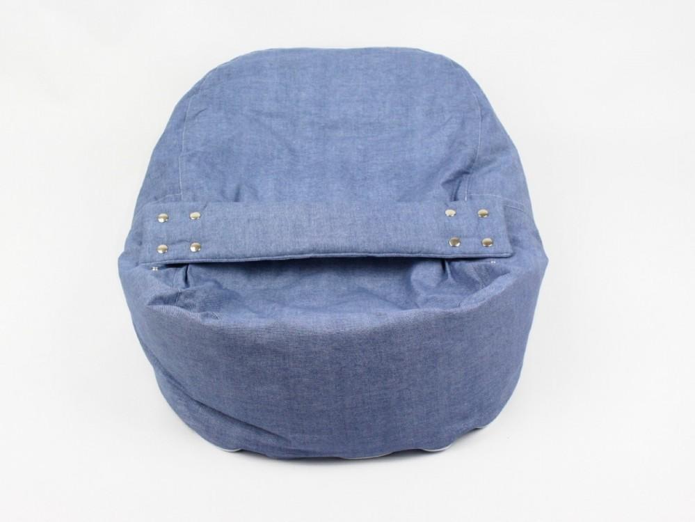 Pelíšek, lehátko pro miminko, 100% bavlna, DENIM č.4