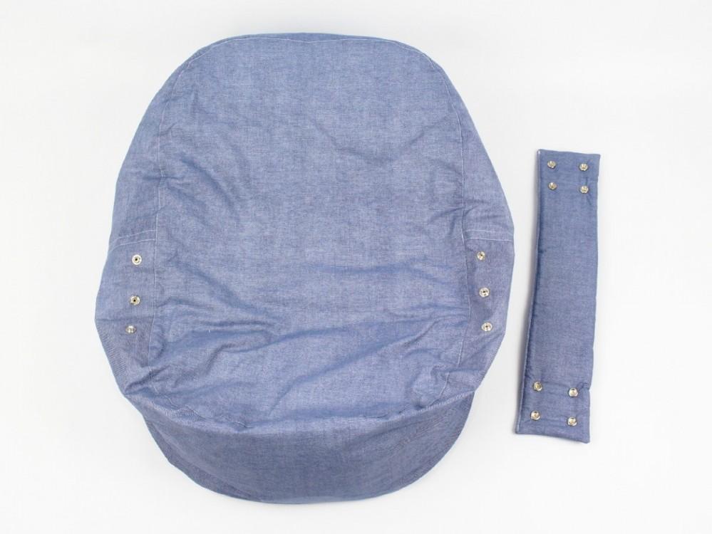 Pelíšek, lehátko pro miminko, 100% bavlna, DENIM č.6