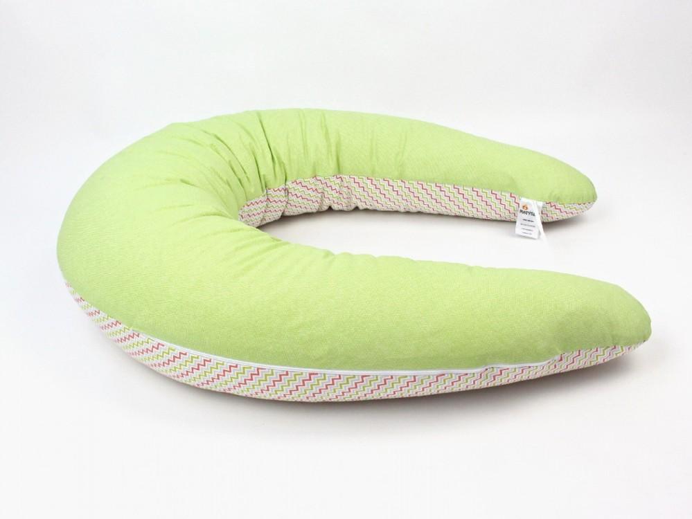 Kojící polštář Standard VLNY ZELENÉ, 100% bavlna č.2